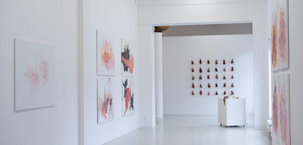 widoku wystawy Bogny Burskiej w Gdańskiej Galerii Miejskiej